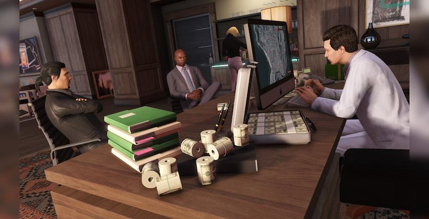 Grand Theft Auto V Criminal Enterprise Starter Pack office