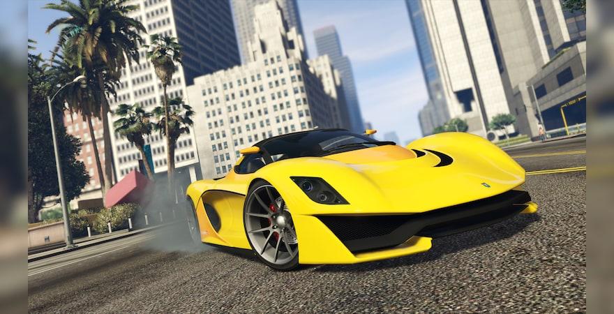 Grand Theft Auto V Criminal Enterprise Starter Pack car