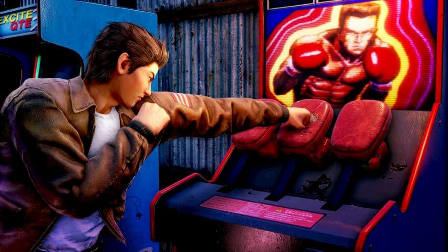 Combat in Shenmue 3