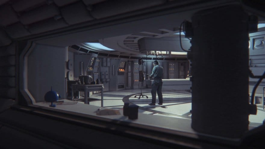 Alien: Isolation Collection - spaceship