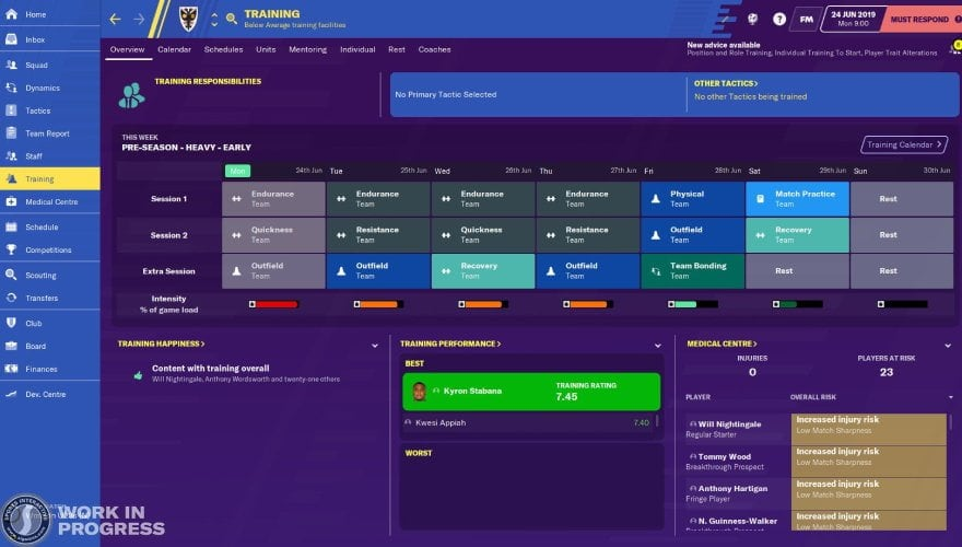 Football Manager 2020 tacticts