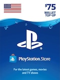 PlayStation Network Gift Card 75 USD PSN UNITED STATES