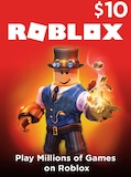 Roblox Card 10 USD - Roblox Key - GLOBAL