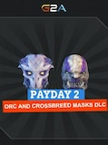 PAYDAY 2: Orc and Crossbreed Masks Steam Key GLOBAL