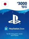PlayStation Network Gift Card 3 000 YEN - PSN JAPAN