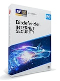 Bitdefender Internet Security 1 Device 12 Months PC Bitdefender Key GLOBAL