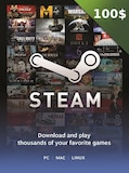 Steam Gift Card 100 USD Steam Key GLOBAL