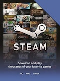 Steam Gift Card Key 20 USD GLOBAL Steam