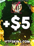 WTFSkins Code 5 USD