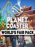 Planet Coaster - World's Fair Pack Steam Key GLOBAL