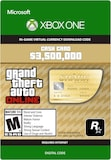 Grand Theft Auto Online: The Whale Shark Cash Card 3 500 000 (Xbox One) - Key - GLOBAL
