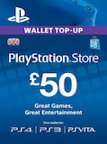 PlayStation Network Gift Card 50 GBP PSN UNITED KINGDOM