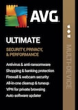 AVG Ultimate Multi-Device (10 Devices, 2 Years) - AVG PC, Android, Mac, iOS - Key GLOBAL