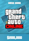 Grand Theft Auto Online: Tiger Shark Cash Card 200 000 Rockstar Key GLOBAL PC