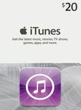 Apple iTunes Gift Card 20 USD - iTunes Key - NORTH AMERICA