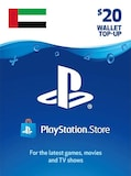 PlayStation Network Gift Card 20 USD - PSN UNITED ARAB EMIRATES