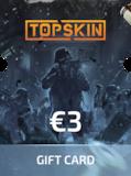 Topskin.gg Gift Card 3 EUR