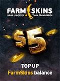 Farmskins Wallet Card FARMSKINS.COM GLOBAL Key 5 USD - -