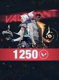 Valorant 1250 VP - Riot Key - TURKEY