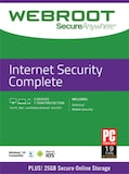 Webroot Internet Security Complete 5 Devices 1 Year Key GLOBAL