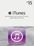 Apple iTunes Gift Card NETHERLANDS 15 EUR iTunes
