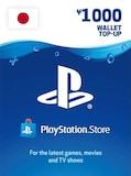 PlayStation Network Gift Card 1000 JPY - PSN Key - JAPAN