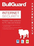 BullGuard Internet Security (1 Device, 1 Year) - PC, Android, Mac - Key GLOBAL