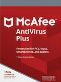 McAfee AntiVirus Plus (1 Device, 1 Year) - PC, Android, Mac, iOS - Key GLOBAL