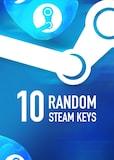 Random 10 Keys Steam Key GLOBAL
