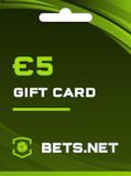Bets.net Gift Card GLOBAL 5 EUR