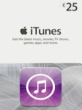 Apple iTunes Gift Card 25 EUR iTunes GERMANY