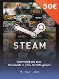 Steam Gift Card 50 EUR Steam Key GLOBAL