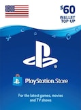 PlayStation Network Gift Card 60 USD PSN UNITED STATES