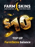 Farmskins Wallet Card FARMSKINS.COM GLOBAL Key 10 USD - -
