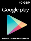 Google Play Gift Card 10 GBP UNITED KINGDOM