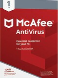 McAfee AntiVirus PC 1 Device 1 Year McAfee Key GLOBAL