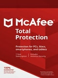 McAfee Total Protection 3 Devices 1 Year Multidevice Key GLOBAL
