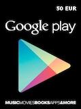 Google Play Gift Card 50 EUR EUROPE