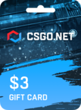 CSGO.net Gift Card UNITED STATES 3 USD