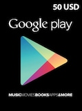Google Play Gift Card 50 USD NORTH AMERICA