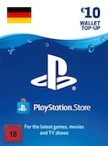 PlayStation Network Gift Card 10 EUR - PSN GERMANY