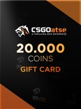 CSGOatse Gift Card - Key GLOBAL 20 000 Coins
