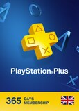 Playstation Plus CARD 365 Days PSN UNITED KINGDOM