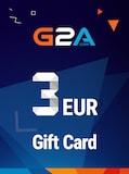 G2A Gift Card G2A.COM Key GLOBAL 3 EUR