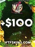 WTFSkins Code 100 USD