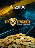 PvPRO Gift Card 2 000 Coins