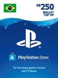 PlayStation Network Gift Card 250 BRL - PSN BRAZIL