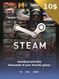 Steam Gift Card 10 USD Steam Key