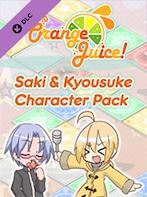 100% Orange Juice - Saki & Kyousuke Character Pack Steam Key GLOBAL