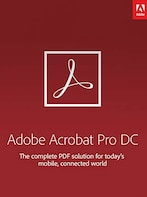 Adobe Acrobat Pro DC Subscription (PC/Mac) 3 Months - Adobe Key - UNITED KINGDOM